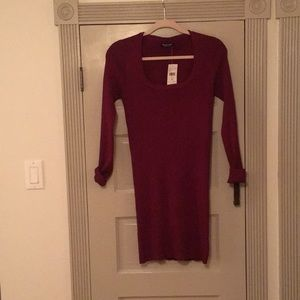 burgundy ribbed mini dress, fashion nova